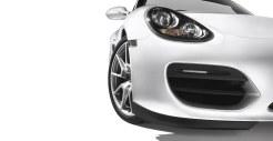 2011 Carrara White Porsche Boxster Spyder wallpaper Front corner view