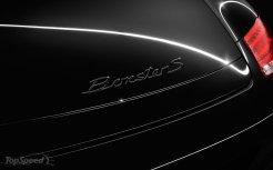 2011 Porsche Boxster S Black Edition Rear view Sign