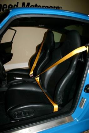 Jerry Seinfeld's 1997 Porsche 911 Turbo S Interior Seats