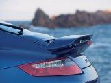 2007 Blue Porsche 911 Turbo Wallpaper Rear spoiler
