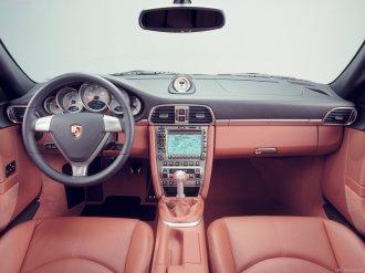2007 Porsche 911 Turbo Wallpaper Interior