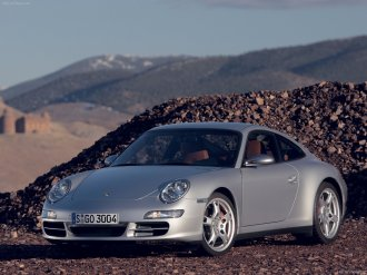 2008 Porsche 911 Carrera Wallpaper Front angle side view