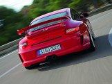 2010 Red Porsche 911 GT3 Wallpaper Rear view