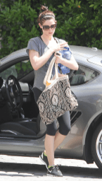 Ashley Greene and her Porsche Cayman S