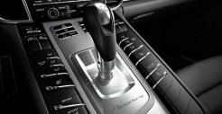 2011 White Porsche Panamera Diesel wallpaper Interior Gear box