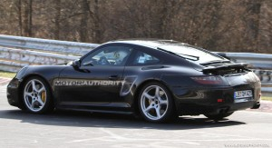 2012 New Porsche 911 (Porsche 991) spy shots