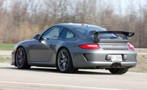 Porsche test: Mid Engine Porsche Cayman R vs. rear engine Porsche 911 GT3
