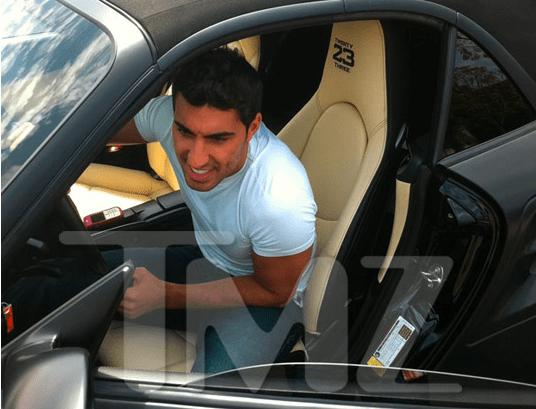Adam Sabbagh buys David Beckham Porsche 911