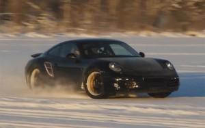 2012 New Porsche-911 (Porsche991) in winter