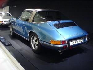 1970 Porsche 911 S 2.2 Targa at Porsche museum