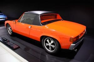 1969 Porsche 914/8 at Porsche museum