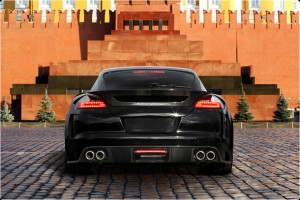 Porsche Tuning - Rear view