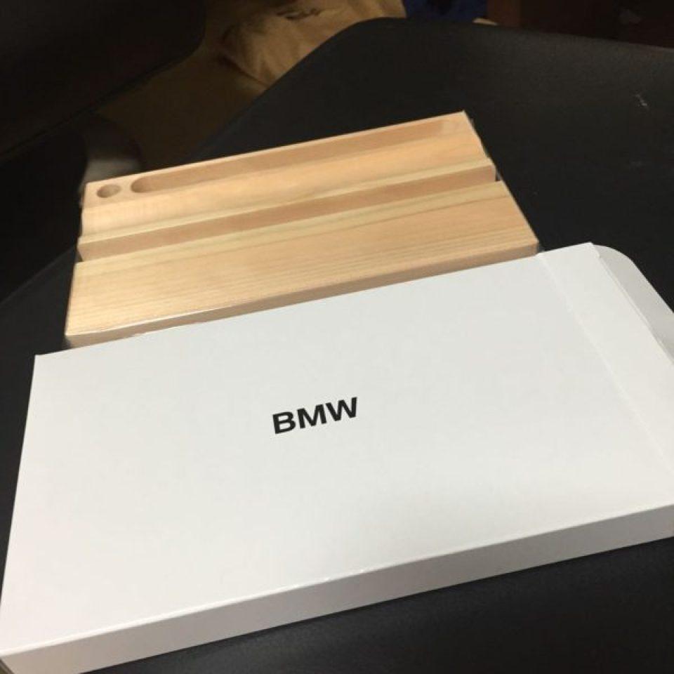 BMWのノベルティ、ペン立て