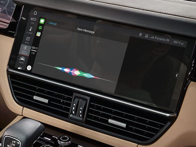 Apple CarPlay Macan