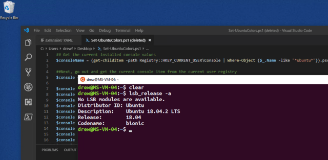 Going Native: Using the Windows Subsystem For Linux – Port 1433