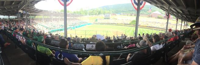 Inside Lamade Stadium