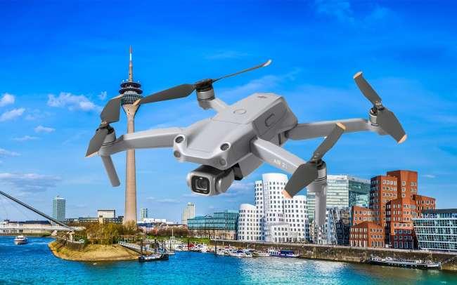 Drohnenfotos und Drohnenvideos Düsseldorf