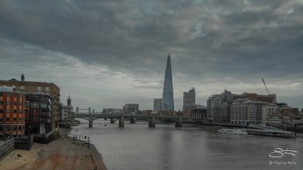 Thames and the Shard 12/19/2015
