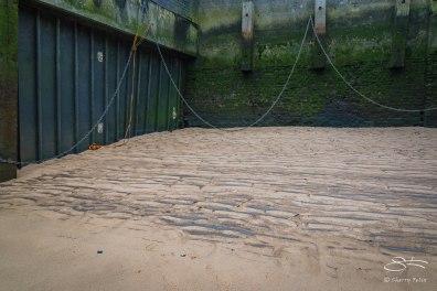 Sand, Bermondsey Wall, Neckinger, Thames 1/1/2016
