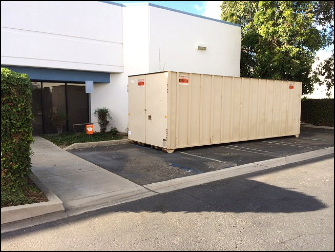 26 x 85 x 8 ROLL OFF CONTAINER RENT Porta Stor