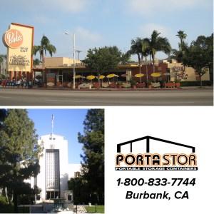 Rent portable storage units in Burbank, CA