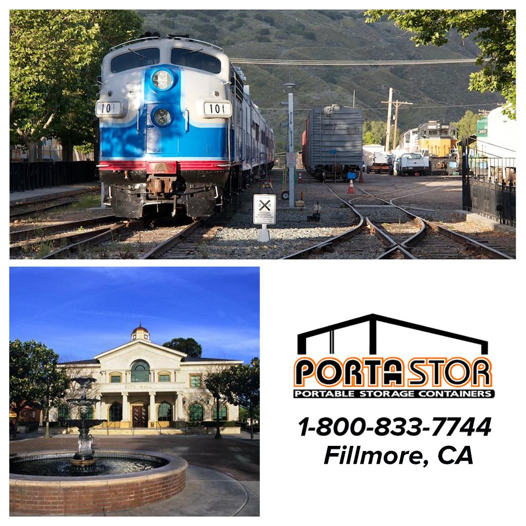 Rent portable storage units in Fillmore CA