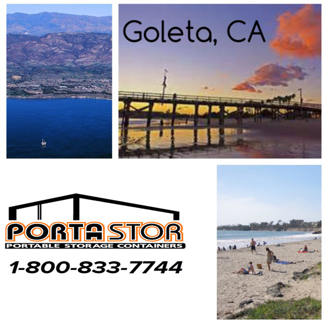Rent portable storage containers in Goleta CA