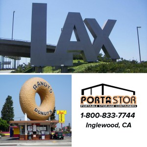Rent portable storage containers in Inglewood, CA