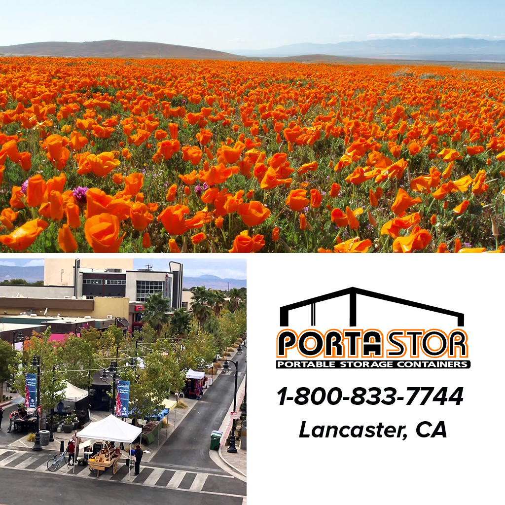 Rent portable storage units in Lancaster CA & Rent Portable Storage Containers in Lancaster