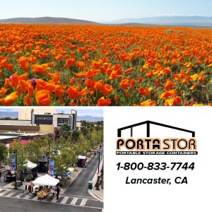 Rent portable storage units in Lancaster, CA