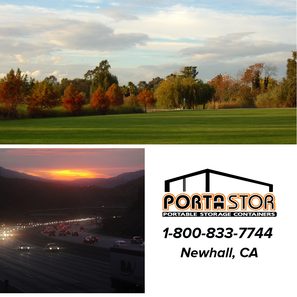 Rent portable storage containers in Newhall, CA