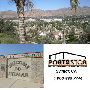 Rent portable storage containers in Sylmar, CA