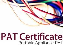 PAT Test Certificates