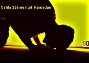 Ramadan nuit 13