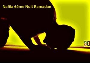 Ramadan nuit 6