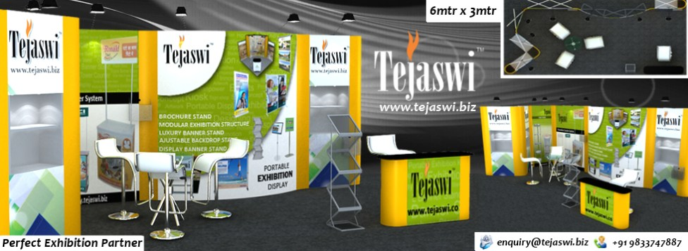 6x3 meter Exhibition Stall Portable Exhibition Kit
