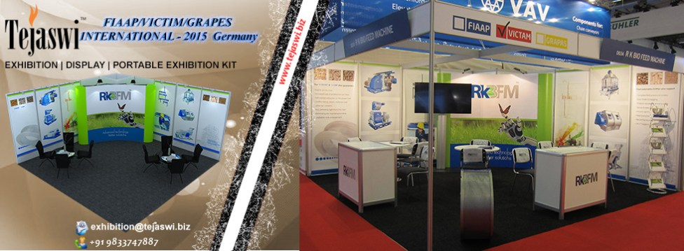 Germany Portable Exhibitoin Stall 5 Meter x 5 Meter