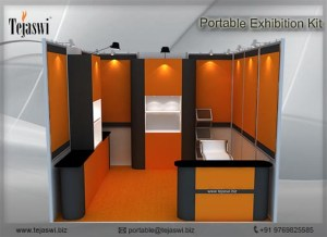 3 Meter x 3 Meter Exhibition Stall Combo, 9 Square Meter Exhibition Stall Combo, Portable Exhibition Stall Combo for 3 Meter x 3 Meter Exhibition Stall, 9 Square Meter Portable Exhibition Stall