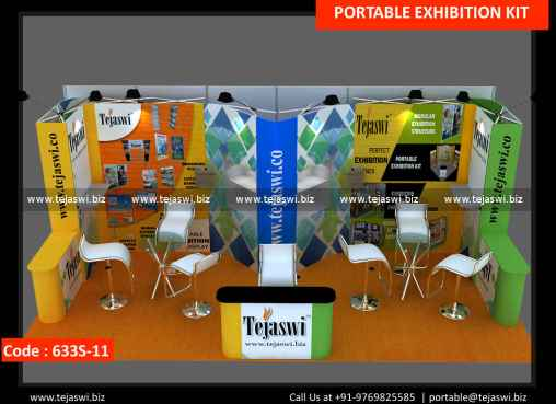 6 Meter x 3 Meter Portable Exhibition Stand 633S-11