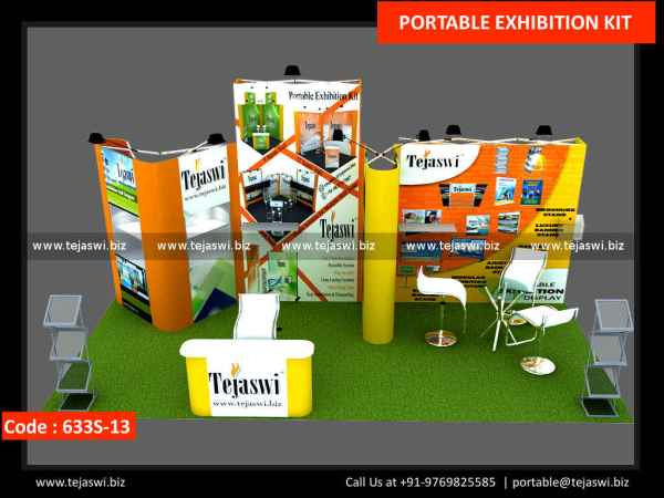 6 Meter x 3 Meter Portable Expo Stand 633S-13