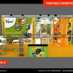 6 Meter x 3 Meter Portable Exhibition Stand 633S-9