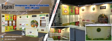 Annapoorna World of Food India Mumbai Portable Exhibition Kit