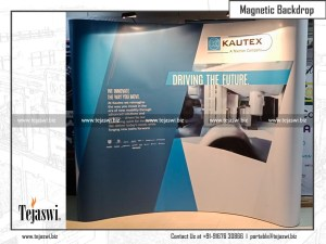 3 x 3 Curved Magnetic Backdrop Solution