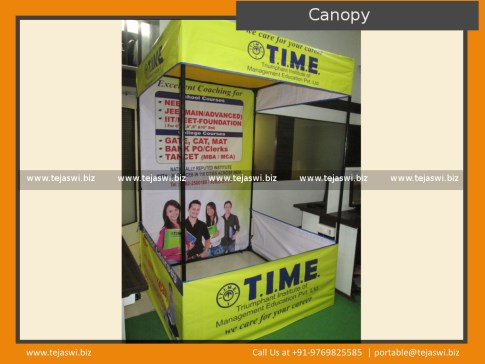 T.I.M.E_Promotional Canopy