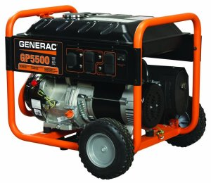 Portable Generator Reviews Generac GP5500