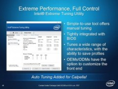 Intel Clarksfield - Extreme Tuning Utility