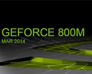 Geforce GTX 800 m
