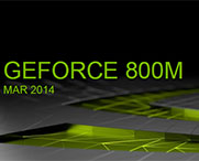 Geforce GTX 800 m