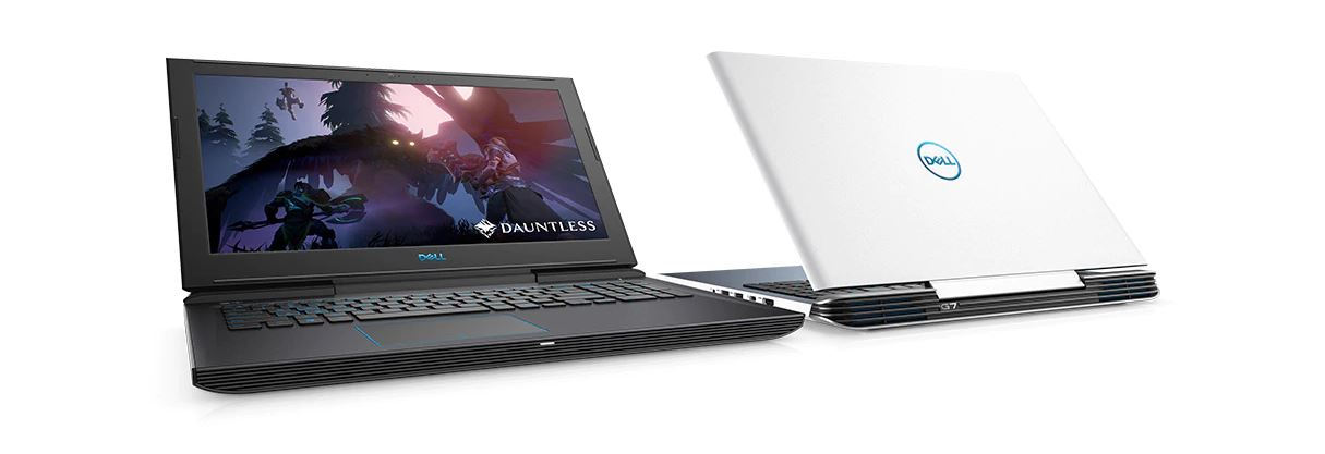 Dell G7 en blanc ou en gris