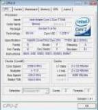 T7500 vu par CPUz avec TDE
